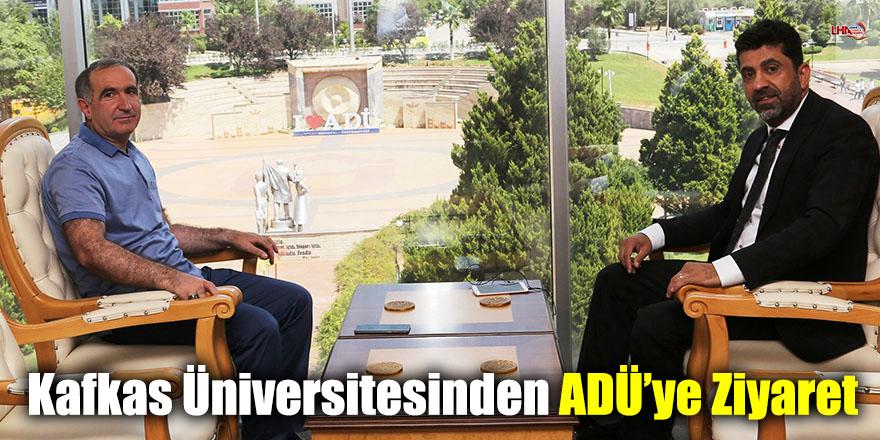 Kafkas Üniversitesinden ADÜ'ye Ziyaret