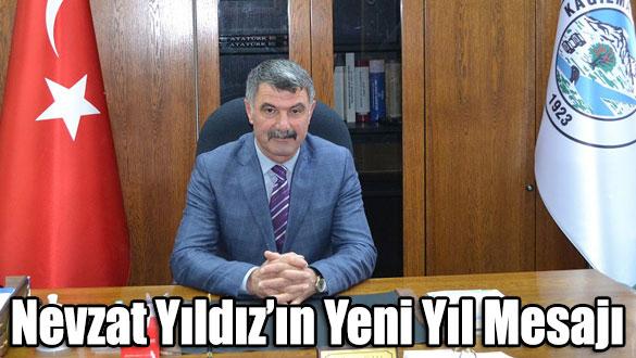 Kağızman Belediye Başkanı Nevzat Yıldız'ın Yeni Yıl Mesajı