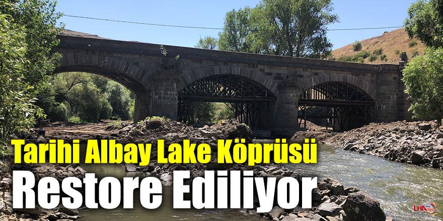 Tarihi Albay Lake Köprüsü Restore Ediliyor