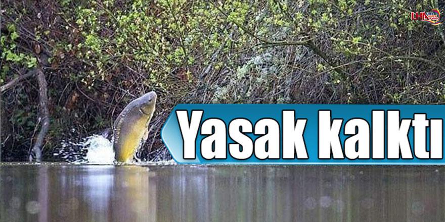 Kars'ta Balık Avı Yasağı Kalktı