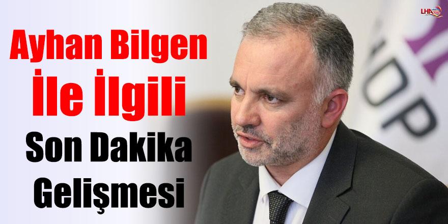 Kars Belediye Başkanı Ayhan Bilgen İle İlgili Son Dakika Gelişmesi