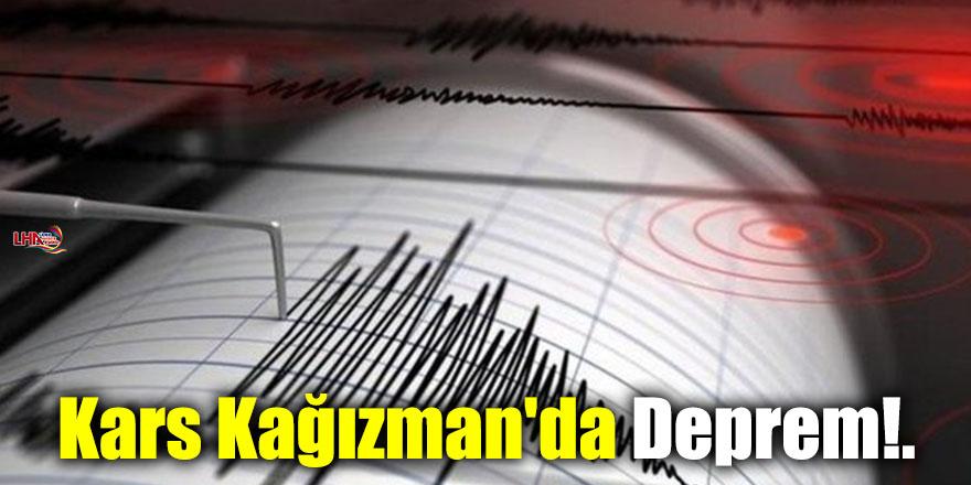 Kars Kağızman'da Deprem!.