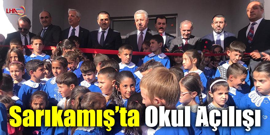Sarıkamış'ta Okul Açılışı