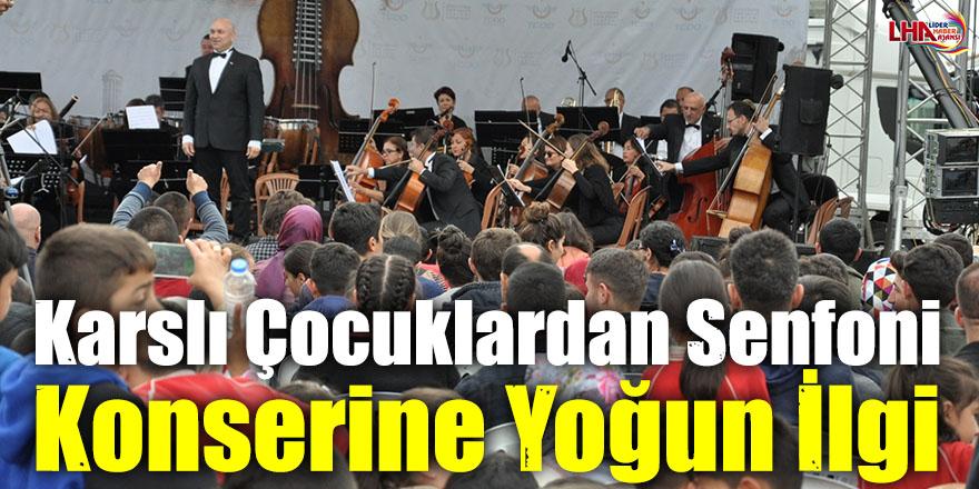 Karslı Çocuklardan Senfoni Konserine Yoğun İlgi