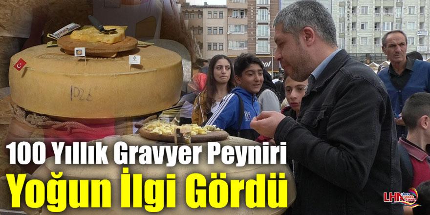 100 Yıllık Gravyer Peyniri Yoğun İlgi Gördü