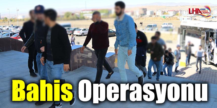 Kars Merkezli 10 İlde Bahis Operasyonu