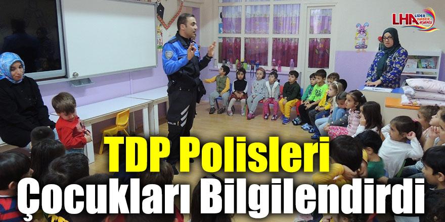 TDP Polisleri Çocukları Bilgilendirdi