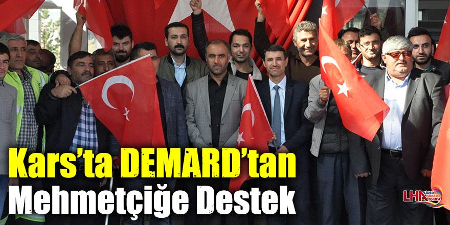 Kars'ta DEMARD'tan Mehmetçiğe Destek