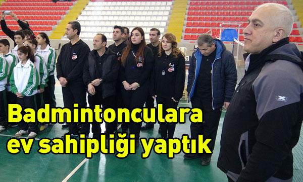 Kars´ta Badminton müsabakaları