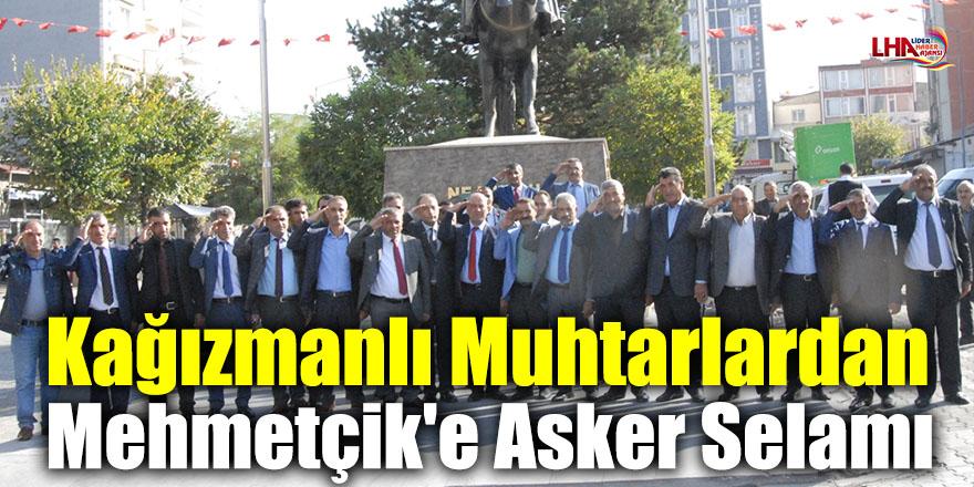 Kağızmanlı Muhtarlardan Mehmetçik'e Asker Selamı