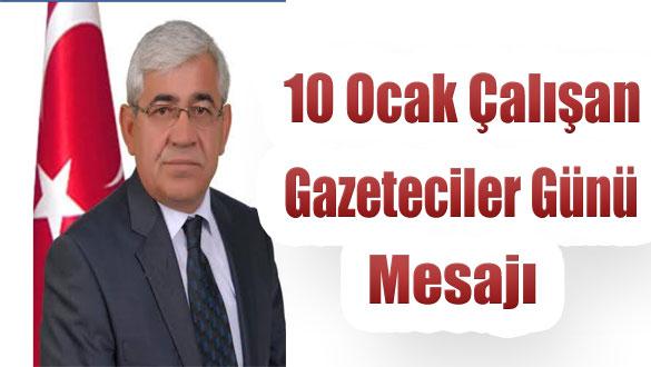 Başkan Murtaza Karaçanta'nın 10 Ocak Mesajı