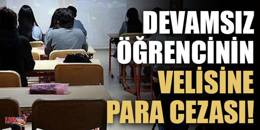 Milli Eğitim'den Okullarda Devamsızlık Düzenlemesi; Velilere Para Cezası Kesilecek