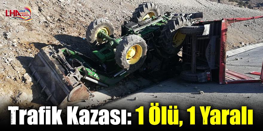 Sarıkamış'ta Trafik Kazası: 1 Ölü, 1 Yaralı