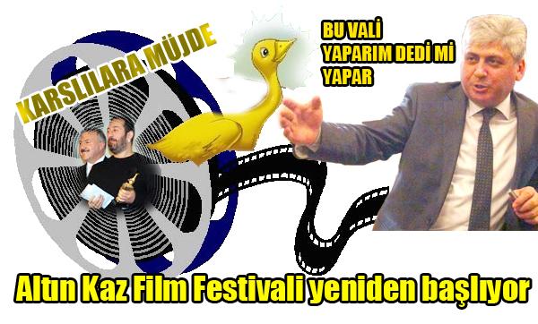 Altın Kaz Film Festivali yeniden başlıyor