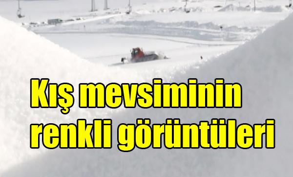 Kış mevsiminin renkli görüntüleri