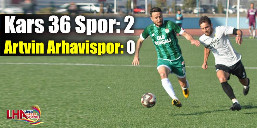 Kars 36 Spor: 2 - Artvin Arhavispor: 0