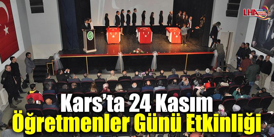 Kars'ta 24 Kasım Öğretmenler Günü Etkinliği