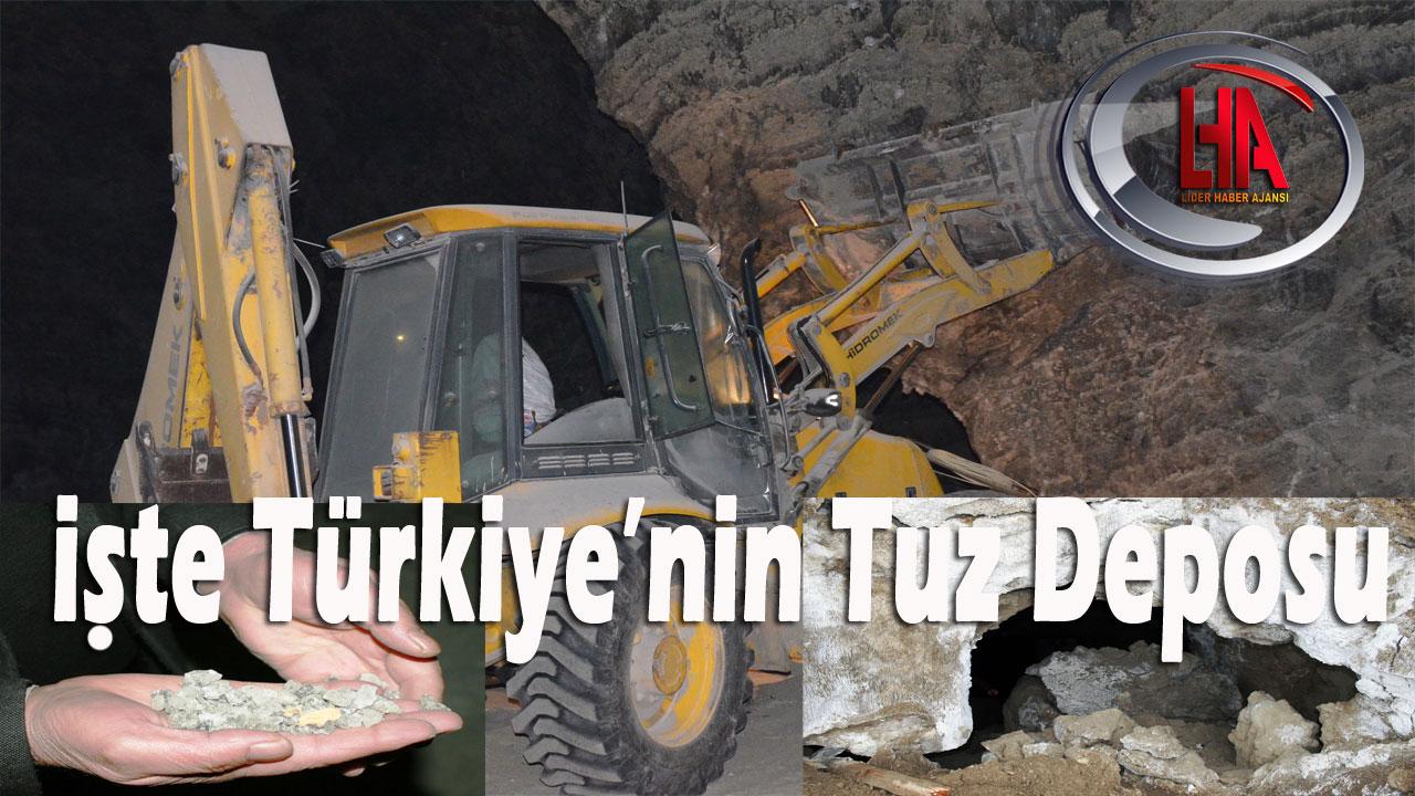İşte Türkiye'nin Tuz Deposu