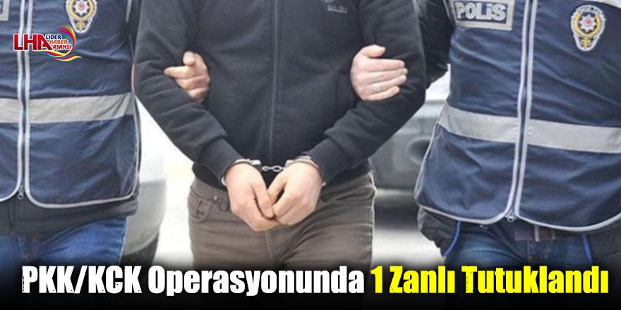 PKK/KCK Operasyonunda 1 Zanlı Tutuklandı