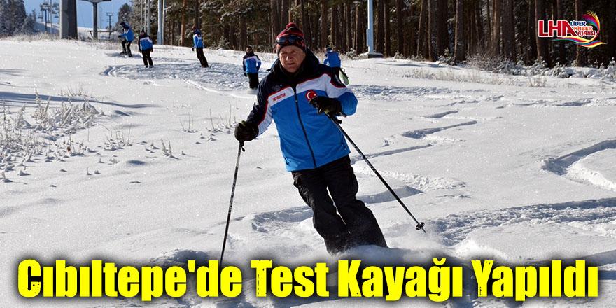 Cıbıltepe'de Test Kayağı Yapıldı