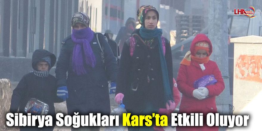 Sibirya Soğukları Kars'ta Etkili Oluyor