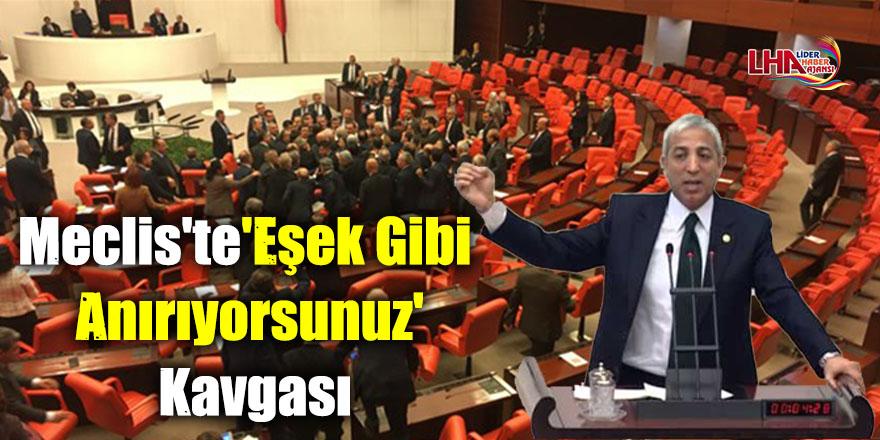 Meclis'te 'Eşek Gibi Anırıyorsunuz' Kavgası