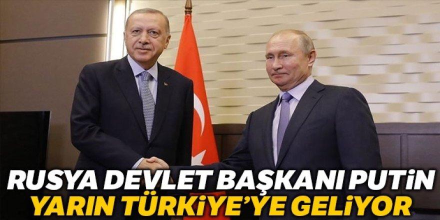 Rusya Devlet Başkanı Putin Türkiye'ye geliyor