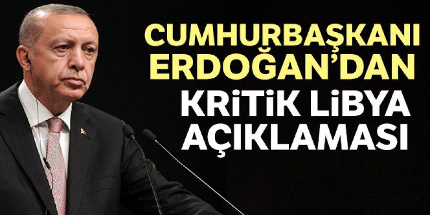 Erdoğan: 'Libya'da ateşkesin yakın zamanda imzalanmasını temenni ediyorum'