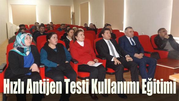 Hızlı Antijen Testi Kullanımı Eğitimi