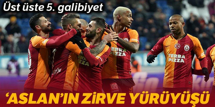 Galatasaray, Kasımpaşa'yı 3-0 yenerek seriyi 5 maça çıkardı