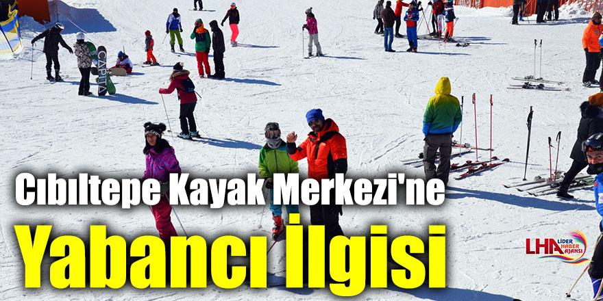 Cıbıltepe Kayak Merkezi'ne Yabancı İlgisi