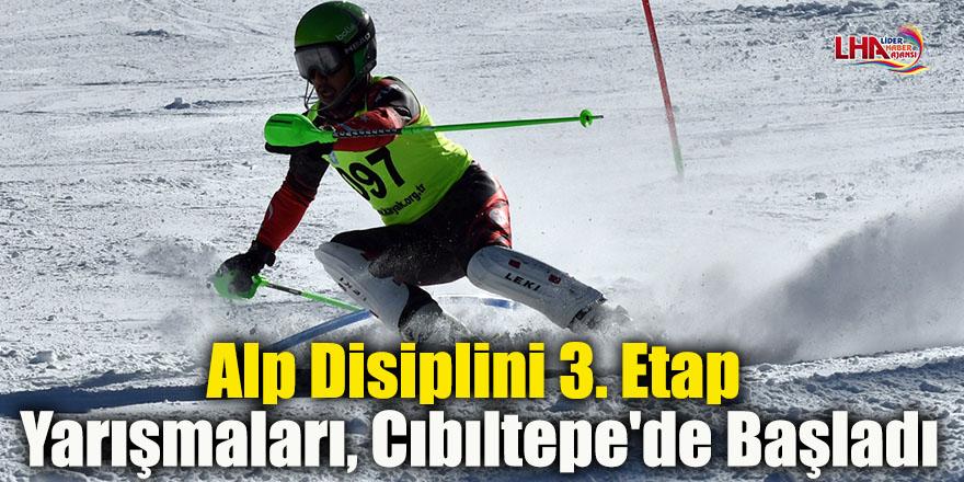 Alp Disiplini 3. Etap Yarışmaları, Cıbıltepe'de Başladı
