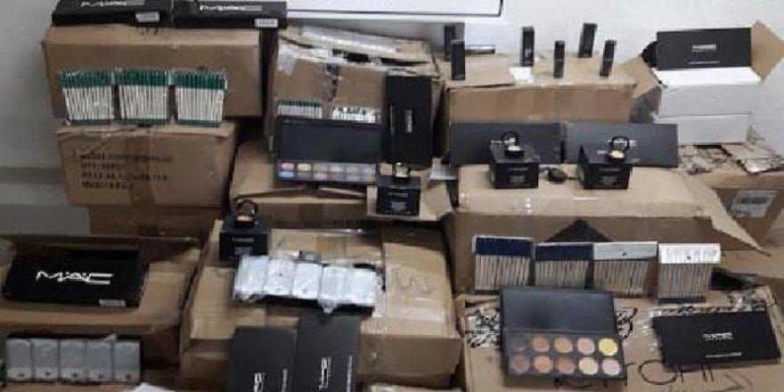 Iğdır'da kaçak kozmetik ürünü operasyonu