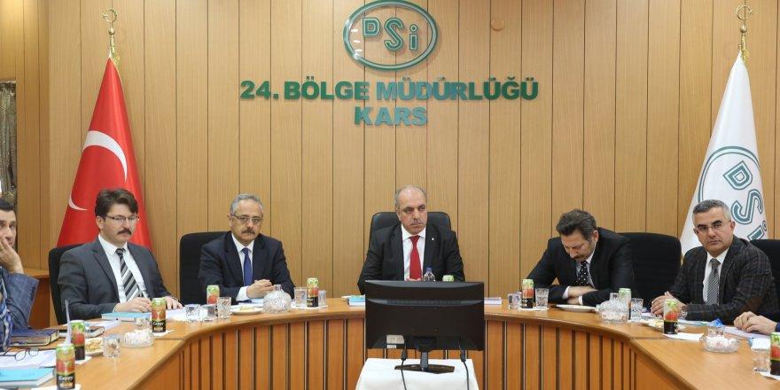 Susuz Barajı ve Sulama Projesi değerlendirme toplantısı yapıldı