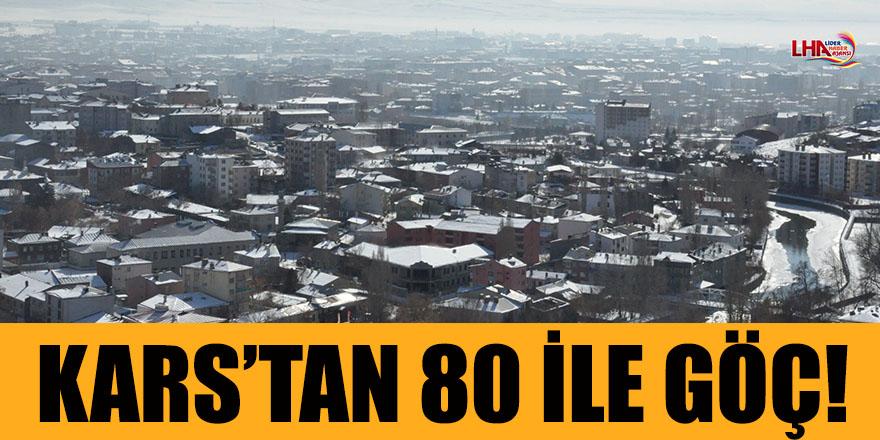 Kars'tan 80 İle Göç!