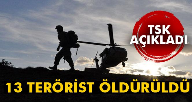 Fırat Kalkanı Harekatının 167´nci günü: 13 terörist öldürüldü!