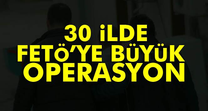 Konya merkezli 30 ilde FETÖ operasyonu: 102 gözaltı kararı