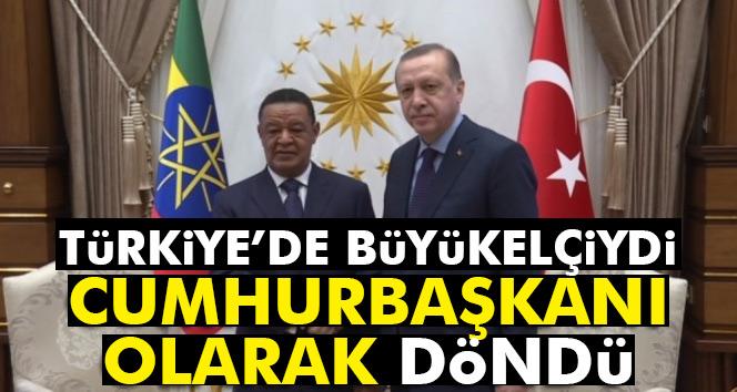 Büyükelçi olarak çalıştığı Türkiye'ye Cumhurbaşkanı olarak geldi