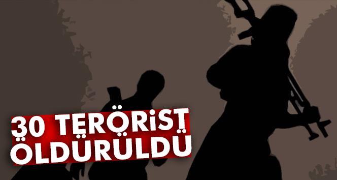 TSK: ´30 DEAŞ terör örgütü mensubu etkisiz hale getirildi´