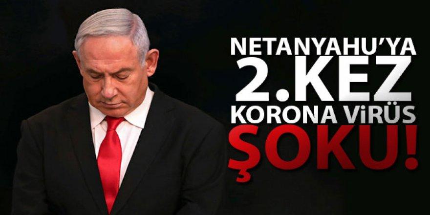 Netanyahu'ya 2. kez Korona virüs şoku