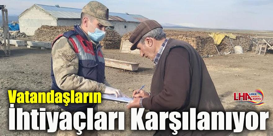 Arpaçay'da 65 Yaş Üstü Vatandaşların İhtiyaçları Karşılanıyor