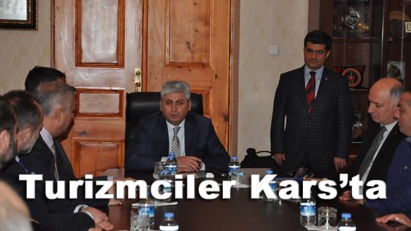 Vali Rahmi Doğan, turizmcilere Kars´ı anlattı