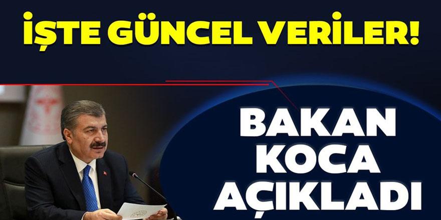 Bakan Koca, Türkiye'deki son corona virüsü vaka sayısını açıkladı!