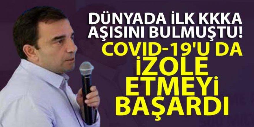 Prof. Dr. Özdarendeli, Covid-19'u da izole etmeyi başardı