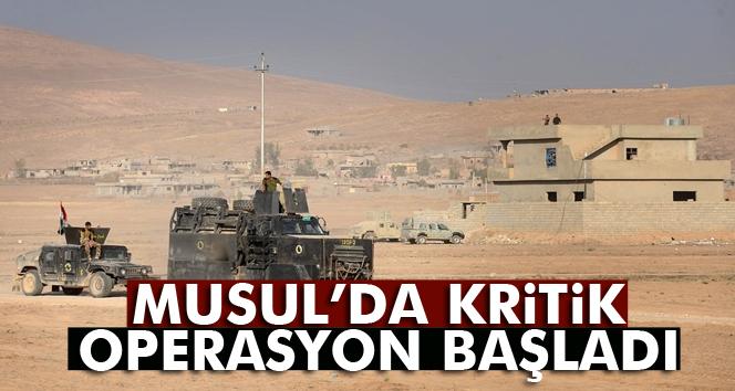 Irak'tan Musul'un batısı için operasyon