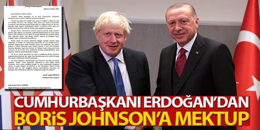 Erdoğan, Birleşik Krallık Başbakanı Johnson'a mektup gönderdi