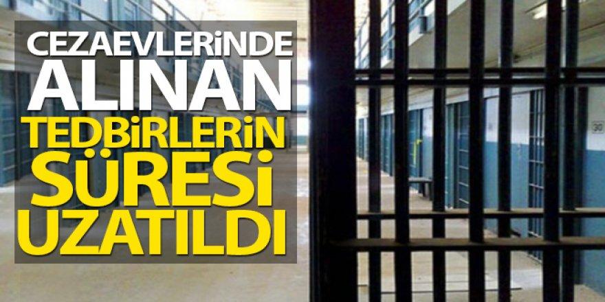 Ceza infaz kurumlarındaki korona virüs tedbirleri 30 Nisan'a kadar uzatıldı