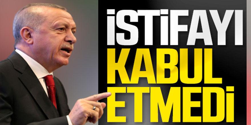 Erdoğan, Soylu'nun istifasını kabul etmedi