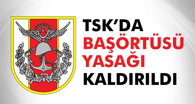 Son dakika: Türk Silahlı Kuvvetlerin´de başörtüsü yasağı kalktı!