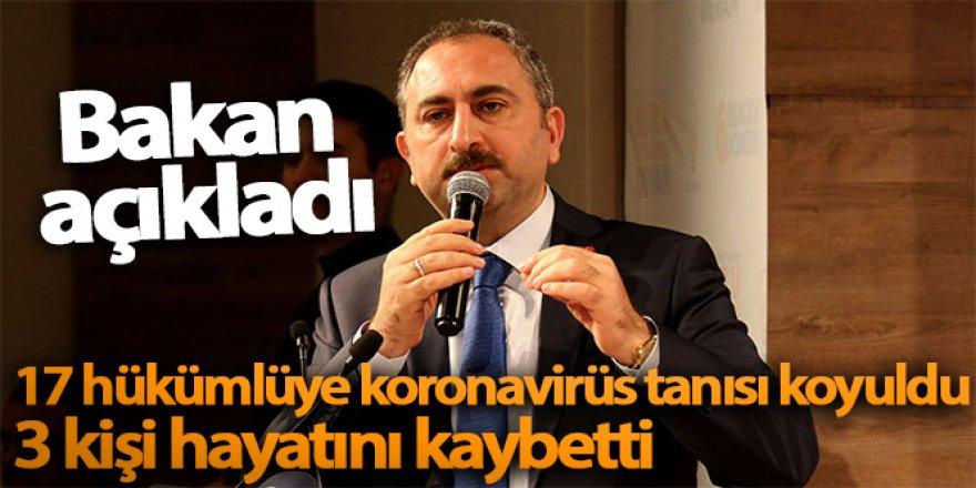Adalet Bakanı Gül'den önemli açıklamalar!
